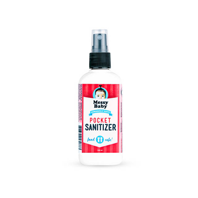 Messy Baby Pocket Sanitizer 100ml - Food Safe