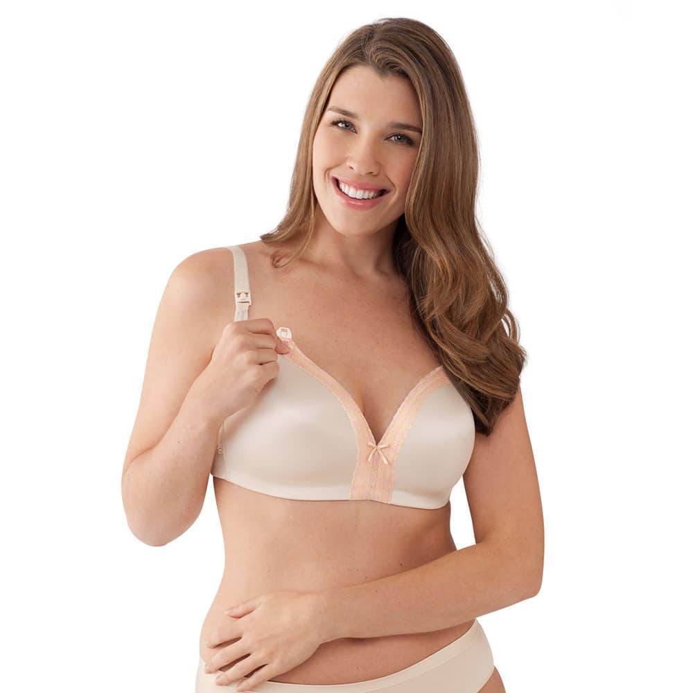 3d56be04eaf Bravado Signature Bliss with Lace Nursing Bra Chai - Babymama
