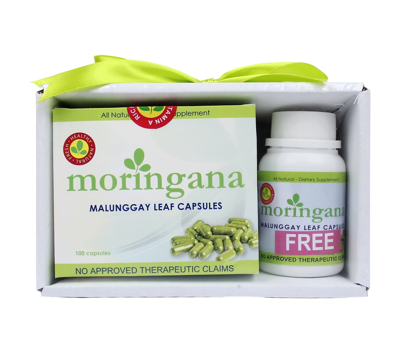 malunggay as vitamin capsule