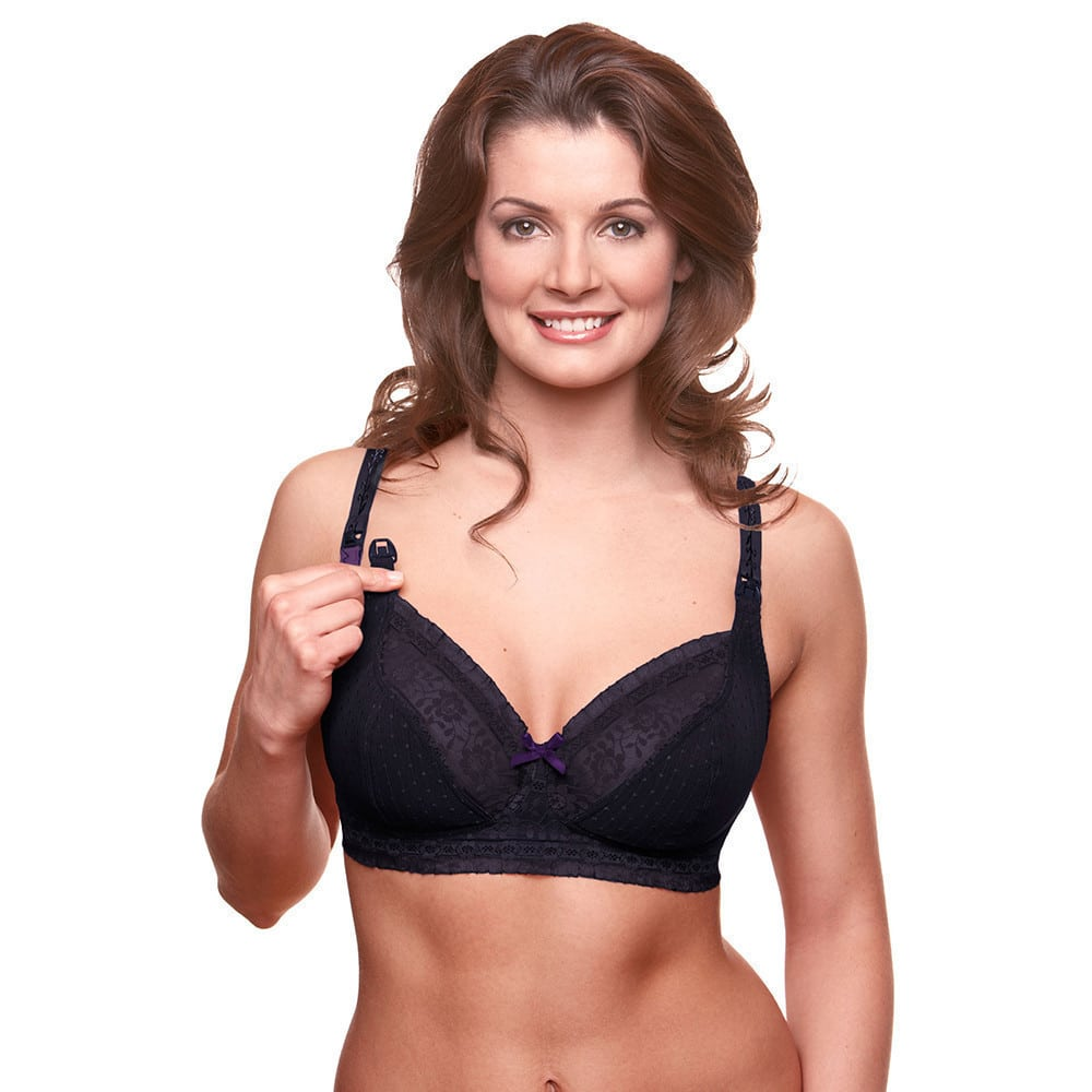 6022e80efd4d7 Bravado. Sublime Nursing Bra Black Purple