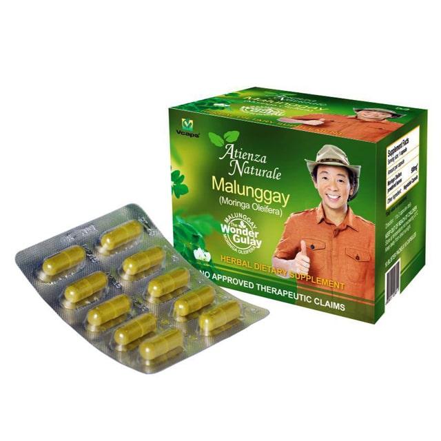 Atienza Naturale Malunggay Capsule 500 Mg 100 Caps Babymama