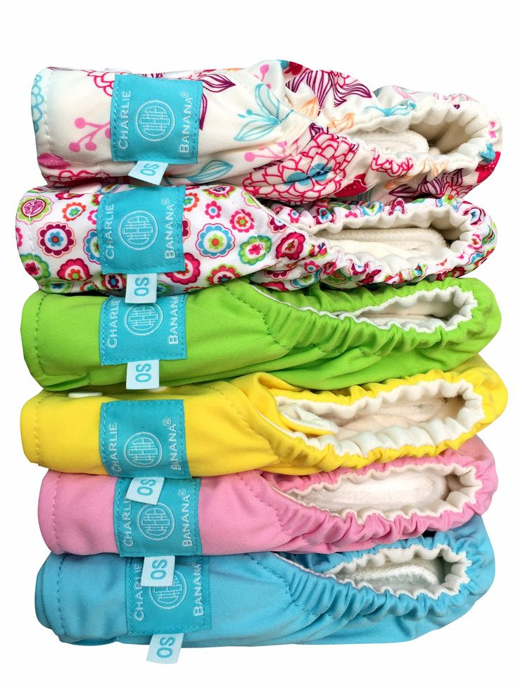 Charlie Banana Cloth Diaper Insert 6pack Dreamy Babymama
