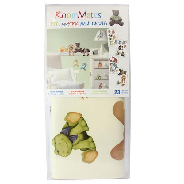 Room Mates Wall Decals Stuffed Animals Babymama