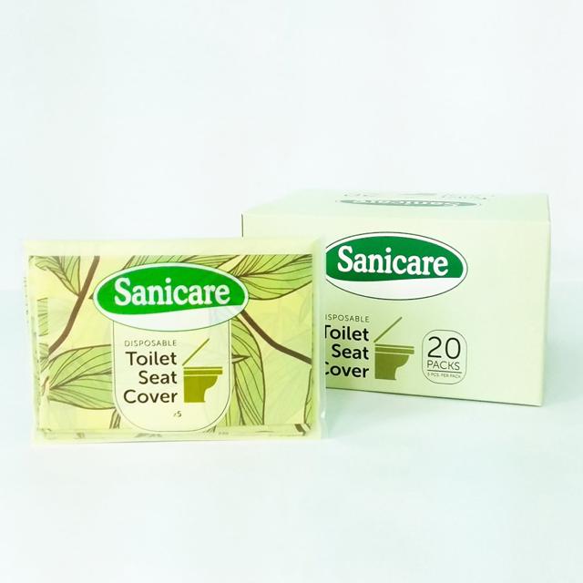 Sanicare Toilet Seat Cover Box Of 100pcs