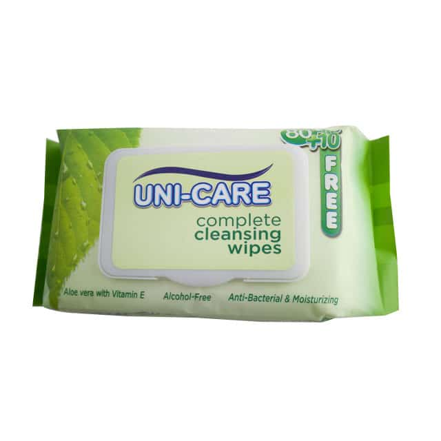 uni-care cleansing wipes 90 u0026 39 s