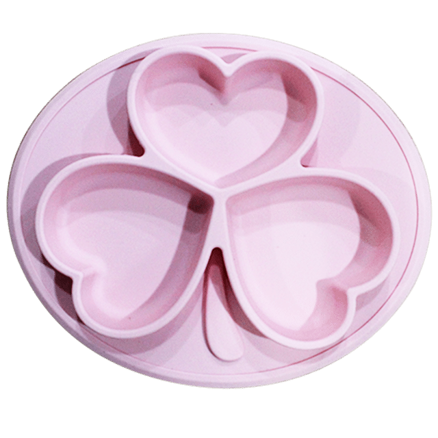 Children S Placemats Silicone Placemat Small Round Pink