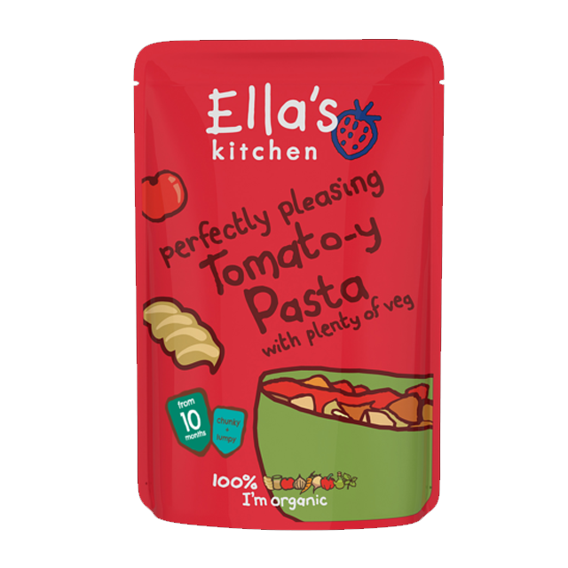 ellas kitchen perfectly pleasing tomato y pasta with plenty of veggies 190g babymama - Ellas Kitchen