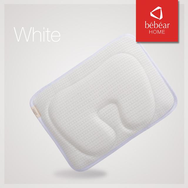 e0fc9995256449 Bebear Adjustable 3D Mesh Pillow - White - Babymama