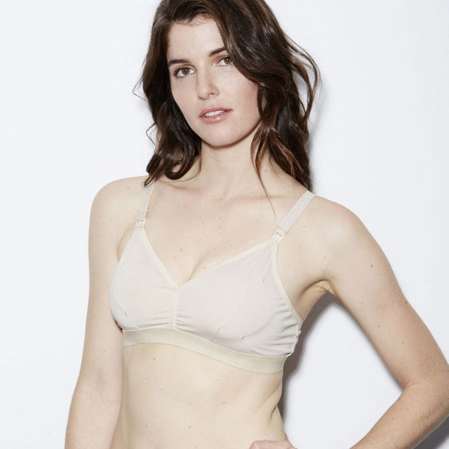 0d4272f427 The Dairy Fairy Rose Handsfree Pumping Bra - Blush with Cream Lace -  Babymama