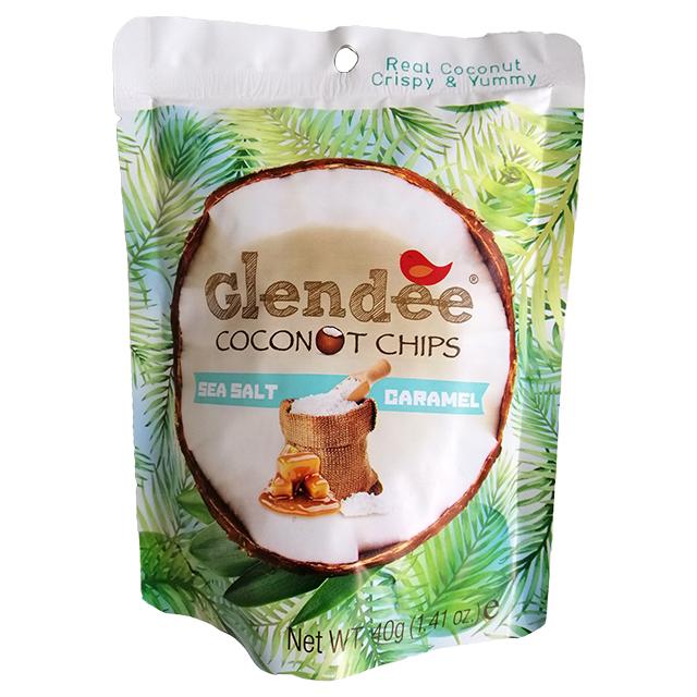 Glendee Coconut Chips Sea Salt Caramel Babymama
