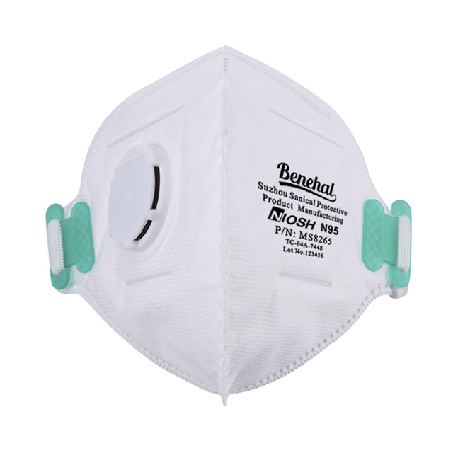 Benehal Valve Mask With N95 Niosh-certified